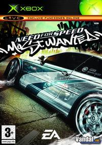 Portada oficial de Need for Speed Most Wanted para Xbox