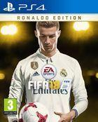 Portada oficial de de FIFA 18 para PS4