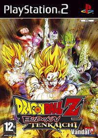 Portada oficial de Dragon Ball Z Budokai Tenkaichi para PS2
