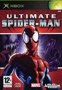 Portada oficial de Ultimate Spider-Man para Xbox