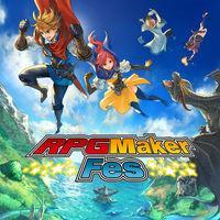 Portada oficial de RPG Maker Fes para Nintendo 3DS