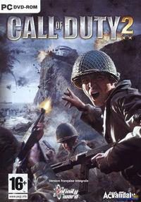 Portada oficial de Call of Duty 2 para PC
