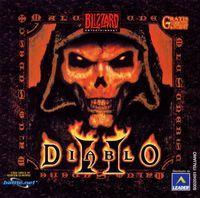 Portada oficial de Diablo II para PC