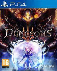 Portada oficial de Dungeons 3 para PS4