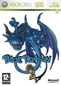 Portada oficial de Blue Dragon para Xbox 360