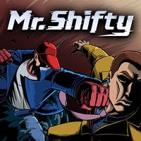 Portada oficial de Mr. Shifty para Nintendo Switch