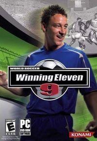 Portada oficial de Winning Eleven 9 para PS2
