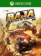 Portada oficial de de Baja: Edge of Control HD para Xbox One