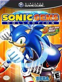 Portada oficial de Sonic Gems Collection para GameCube