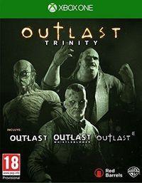 Portada oficial de Outlast Trinity para Xbox One