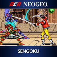 Portada oficial de NeoGeo Sengoku para PS4