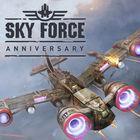 Portada oficial de Sky Force Anniversary eShop para Wii U