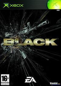 Portada oficial de BLACK para Xbox