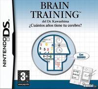 Portada oficial de Brain Training para NDS