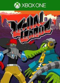Portada oficial de Lethal League para Xbox One