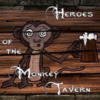 Portada oficial de Heroes of the Monkey Tavern para PS4
