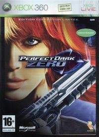 Portada oficial de Perfect Dark Zero para Xbox 360