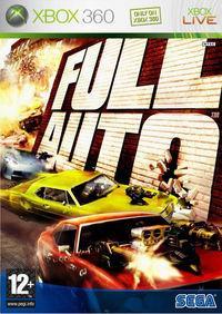 Portada oficial de Full Auto para Xbox 360