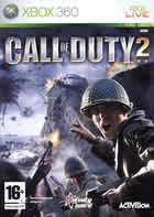 Portada oficial de Call of Duty 2 para Xbox 360