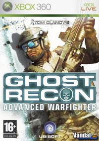 Portada oficial de Tom Clancy's Ghost Recon Advanced Warfighter para Xbox 360