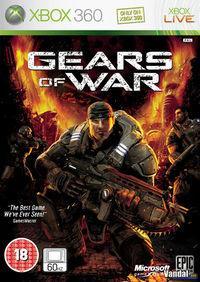 Portada oficial de Gears of War para Xbox 360