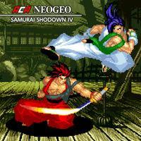 Portada oficial de NeoGeo Samurai Shodown IV para Nintendo Switch