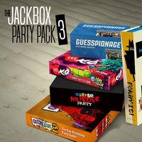 Portada oficial de The Jackbox Party Pack 3 para Nintendo Switch