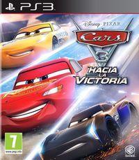 Portada oficial de Cars 3: Hacia la victoria para PS3