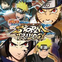 Portada oficial de Naruto: Ultimate Ninja Storm Trilogy para PS4
