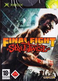 Portada oficial de Final Fight Streetwise para Xbox