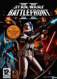 Portada oficial de Star Wars: Battlefront 2 (2005) para PSP