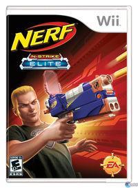 Portada oficial de Nerf: N-STRIKE Elite para Wii