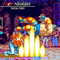 Portada oficial de NeoGeo Fatal Fury para Nintendo Switch