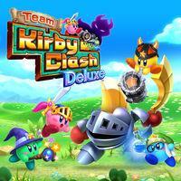 Portada oficial de Team Kirby Clash Deluxe eShop para Nintendo 3DS