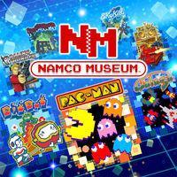 Portada oficial de Namco Museum para Nintendo Switch