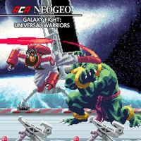 Portada oficial de NeoGeo Galaxy Fight: Universal Warriors para Nintendo Switch