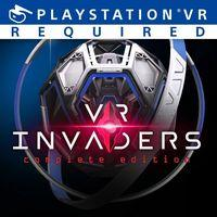 Portada oficial de VR Invaders para PS4