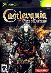 Portada oficial de Castlevania: Curse of Darkness para Xbox