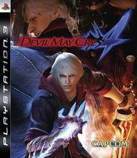 Portada oficial de Devil May Cry 4 para PS3