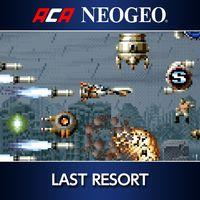 Portada oficial de NeoGeo Last Resort para PS4