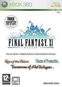 Portada oficial de Final Fantasy XI para Xbox 360