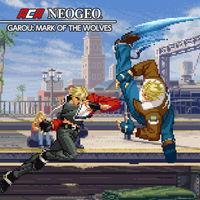Portada oficial de NeoGeo Garou: Mark of the Wolves para Switch