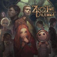 Portada oficial de Zero Time Dilemma para PS4