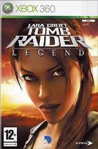 Portada oficial de Tomb Raider: Legend para Xbox 360