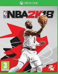 Portada oficial de NBA 2K18 para Xbox One