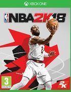 Portada oficial de de NBA 2K18 para Xbox One