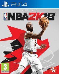 Portada oficial de NBA 2K18 para PS4
