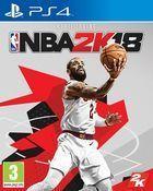 Portada oficial de de NBA 2K18 para PS4