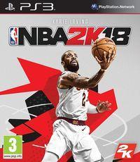 Portada oficial de NBA 2K18 para PS3