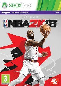 Portada oficial de NBA 2K18 para Xbox 360